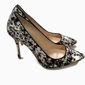 J Crew Collection Roxie Calf Hair Pumps NEW